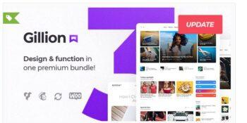 Gillion - Multi-Concept Blog/Magazine & Shop WordPress Theme