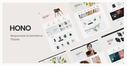 Hono - Multipurpose WooCommerce WordPress Theme