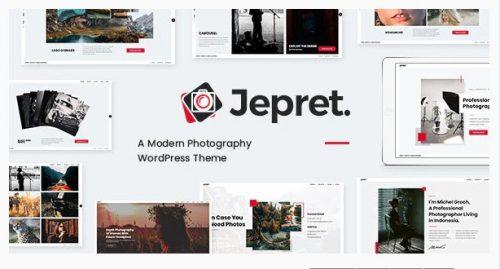 Jepret - Modern Photography WordPress Theme