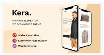 Kera - Fashion Elementor WooCommerce Theme