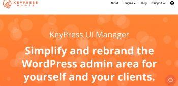 KeyPress UI Manager
