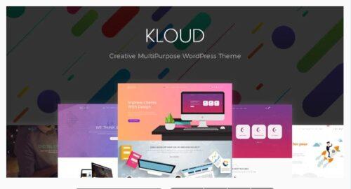 Kloud - Creative Multipurpose WordPress Theme