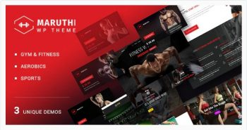 Maruthi Fitness - Fitness Center WordPress Theme