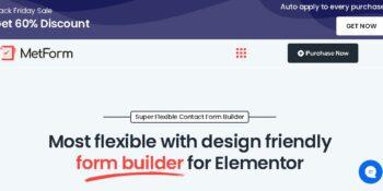 MetForm Pro - Advanced Elementor Form Builder