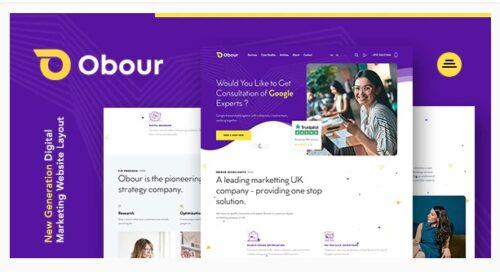 Obour - Digital Marketing Agency WordPress Theme
