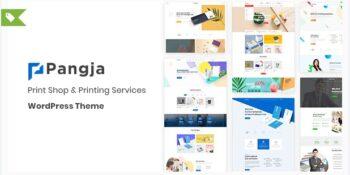 Pangja - Print Shop & Printing Services WordPress theme