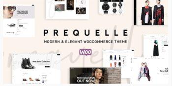Prequelle - Elegant and Modern WooCommerce Theme