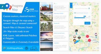 Progress Map Wordpress Plugin