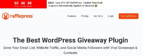 RafflePress Pro - The Best WordPress Giveaway Plugin