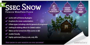5sec Snow - Premium Plugin