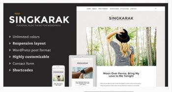 Singkarak - Responsive WordPress Blog Theme
