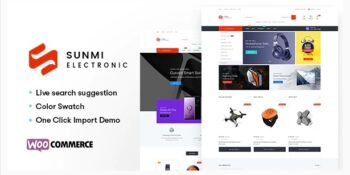 Sumi - Electronics WordPress Theme for WooCommerce (RTL supported)