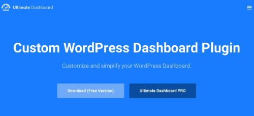 Ultimate Dashboard Pro