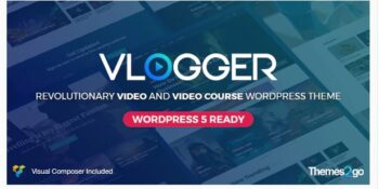Vlogger - Professional Video & Tutorials Theme