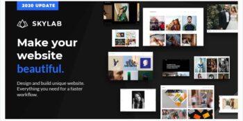 Skylab - Portfolio / Photography WordPress Theme