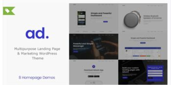 Advent - Digital Marketing WordPress Theme