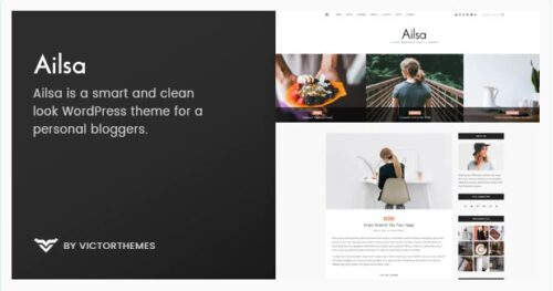 Ailsa- Personal Blog WordPress ThemeAilsa- Personal Blog WordPress Theme