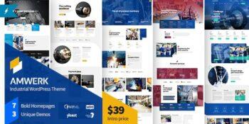 Amwerk - Industry WordPress Theme