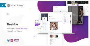 Beehive - Social Network WordPress Theme