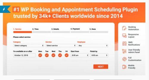 Bookly Booking Plugin