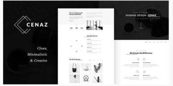 Cenaz - Minimal Multipurpose WordPress Theme