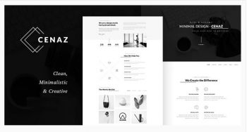 Cenaz - Minimal Multipurpose WordPress Theme