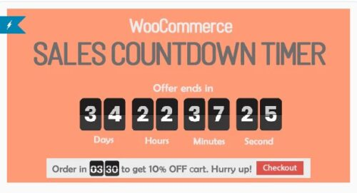 Checkout Countdown - Sales Countdown Timer for WooCommerce and WordPress