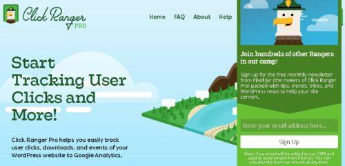 Click Ranger Pro - Start Tracking User Clicks and More!