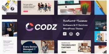 Codz - Software & IT Services Theme