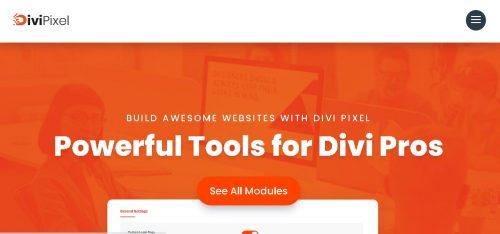 Divi Pixel - Powerful Tools for Divi Pros