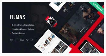 Filmax - Movie Magazine WordPress Theme