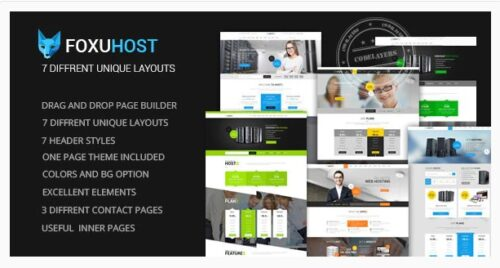 FoxuhHost - Shop, Corporate & Web Hosting + WHMCS