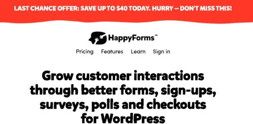 HappyForms Pro