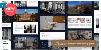 Hoteller - Hotel Booking WordPress