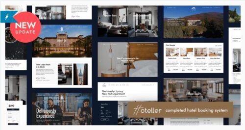 Hoteller - Hotel Booking WordPress