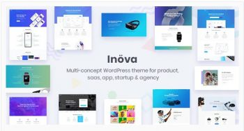 Inova - Multipurpose WordPress Theme For Startups & Agencies