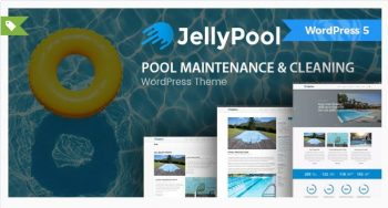 JellyPool - Pool Maintenance & Cleaning Theme