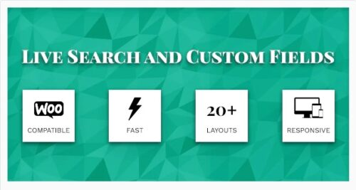 Live Search and Custom Fields