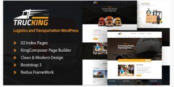 Trucking - Logistics and Transportation Theme