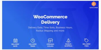 WooCommerce Delivery - Delivery Date & Time Slots