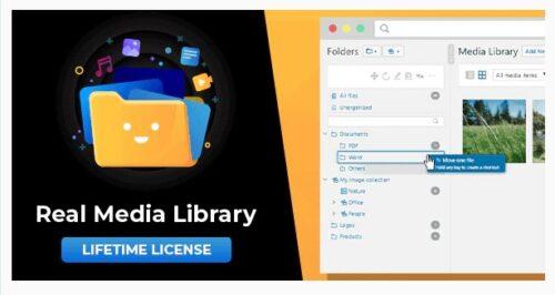 WordPress Real Media Library - Folder & File Manager for WordPress Media Management