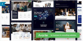 Avante Business Consulting WordPress