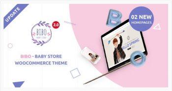Bibo Baby Store & Kids Shop v - WooCommerce WordPress Theme