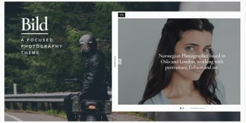 Bild - A Focused WordPress Photography Theme