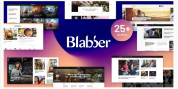 Blabber - All-in-One Elementor Blog & News Magazine WordPress Theme + RTL