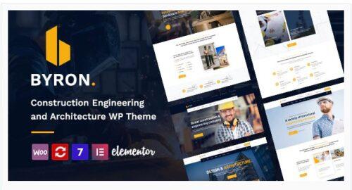 Byron - Construction and Engineering WordPress Theme