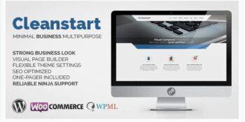 CLEANSTART - Clean Multipurpose Business Theme