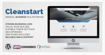 CLEANSTART - Clean Multipurpose Business Theme