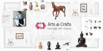 Crafts & Arts - Artist Portfolio Theme
