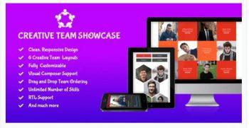 Creative Team Showcase - Team Showcase Plugin for WordPress
